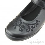 Start-rite Hopscotch Girls Black School Shoe