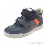 Geox Arzach Boys Navy-Red Boot