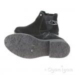 Hush Puppies Alaska Womens Black Ankle Boot