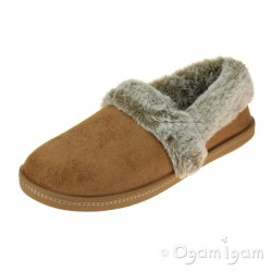 Skechers CozyCampfire TeamToasty Womens Chestnut Slipper