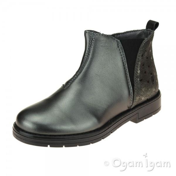 Primigi 44417 Girls Anthracite Ankle Boot