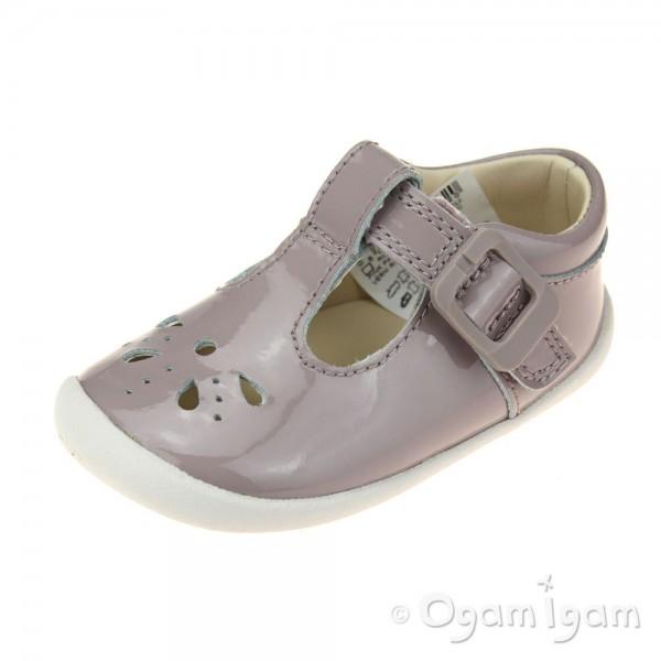 Clarks Roamer Star Infant Girls Pink Shoe