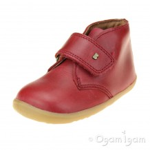 Bobux Desert Boys Girls Red Boot