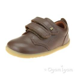 Bobux Port Boys Brown Shoe