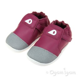 Bobux Xplorer Origin Infant Girls Magenta Shoe