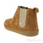 Shoo Pom Play Shine Elast Girls Camel Boot