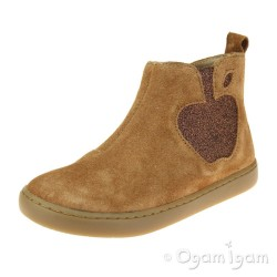 Shoo Pom Play Apple Girls Camel Boot