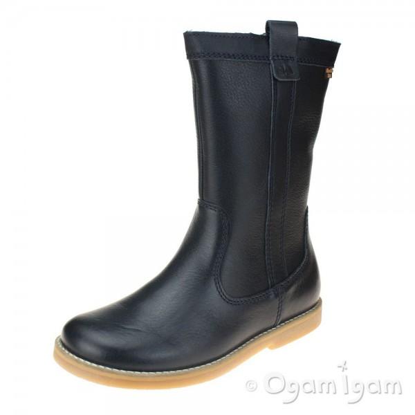 Froddo G3160104 Girls Dark Blue Boot