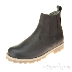 Froddo G31601112 Boys Dark Brown Waterproof Warm-lined Boot
