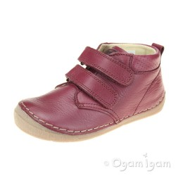 Froddo G2130175 Girls Bordeaux Red Boot
