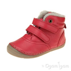 Froddo G2110078 Boys Girls Red Boot