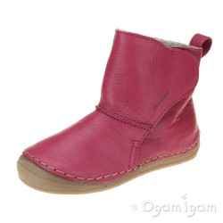 Froddo G2160049 Girls Fuchsia Boot