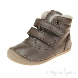 Froddo G2110078 Boys Girls Dark Brown Boot