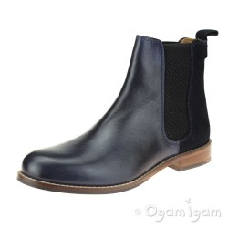 Hush Puppies Chloe Womens Navy Chelsea Boot