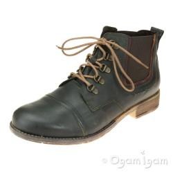 Josef Seibel Sienna 09 Womens Olive Boot