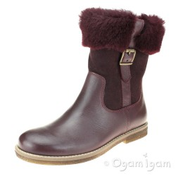 Froddo G3160107 Girls Dark Bordeaux Boot