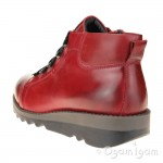 Josef Seibel Lina 09 Womens Hibiscus Red Ankle Boot