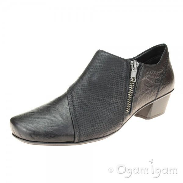 Rieker 5385100 Womens Black Shoe