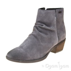 Josef Seibel Daphne 50 Womens Waterproof Asphalt Grey Ankle Boot