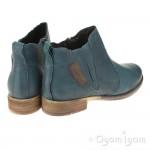 Josef Seibel Sienna 45 Womens Petrol Green Ankle Boot