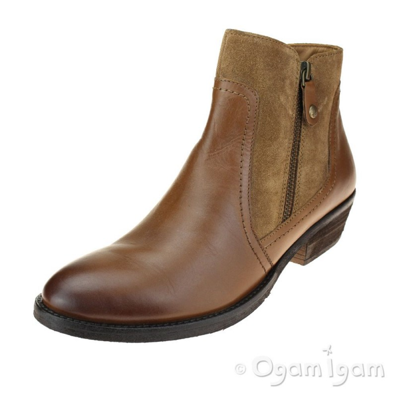 rational construction new arrivals outlet store sale Hush Puppies Isla Womens Tan Ankle Boot