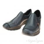 Rieker 5378314 Womens Pazifik Blue Shoe