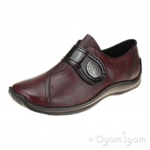 Rieker L176035 Womens Chianti Red Shoe