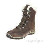 Romika Ventura 06 Womens Waterproof Warm-lined Brown Ankle Boot
