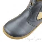 Bobux Jodhpur Boot Girls Charcoal Grey Shimmer Boot