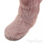 Joules Padabout Girls Soft Pink Boot Slipper