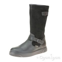Primigi 43741 Girls Black Waterproof Warm-lined Boot
