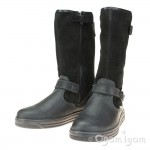 Primigi 43741 Girls Black Waterproof Warm-lined Boot
