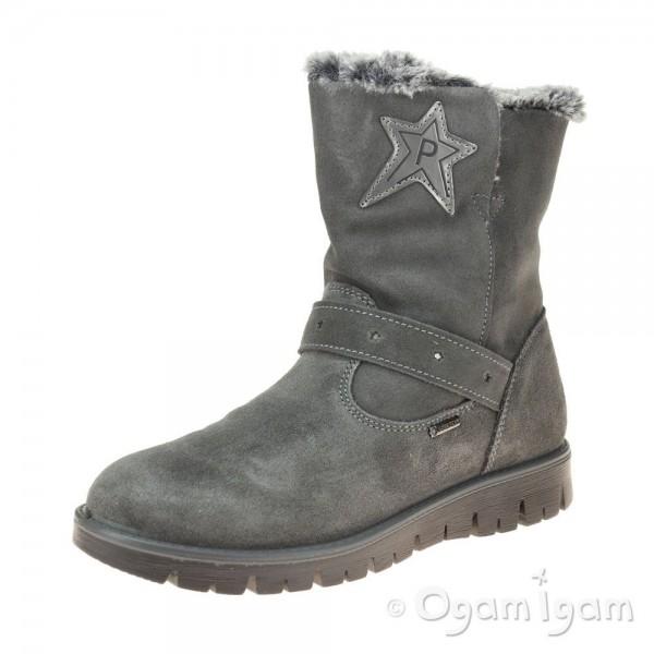 Primigi 43790 Girls Grey Ankle Boot