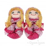 Lelli Kelly Doll Slipper Girls Blonde Slipper