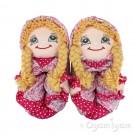 Lelli Kelly Doll Slipper Girls Blonde Slipper
