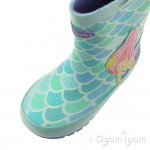 Chipmunks Splash Girls Turquoise Wellington Boot