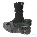 Primigi 43775 Girls Tall Black Waterproof Boot
