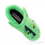Chipmunks Scorch Boys Girls Green Slipper
