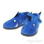 Chipmunks Sharky Boys Girls Blue Slipper