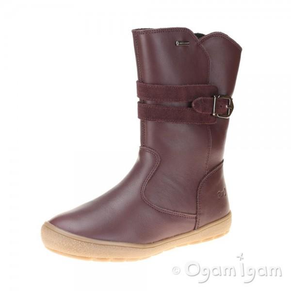 Primigi 44371 Girls Bordeaux Red Warm-lined Waterproof Boot