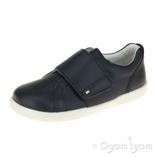 Bobux Boston Boys Navy Shoe