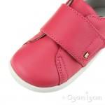 Bobux Boston Girls Geranium Red Shoe