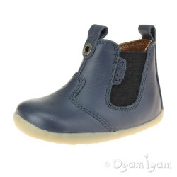 Bobux Jodhpur Boys Girls Navy Boot