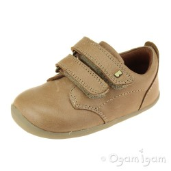Bobux Port Boys Caramel Shoe