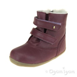 Bobux Aspen Girls Plum Warmlined Boot