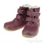 Bobux Aspen Girls Plum Warmlined Boot