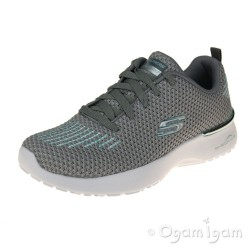 Skechers SkechAir Dynamight Womens Grey-Mint Trainer
