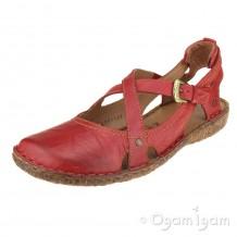 Josef Seibel Rosalie 13 Womens Hibiscus Red Sandal