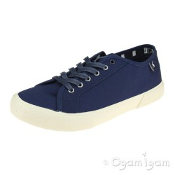 Joules Coast Womens Navy Canvas Shoe