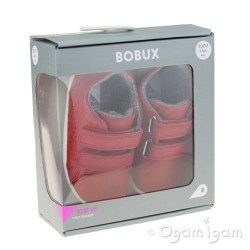 Bobux Grass Court Boys Girls Red Shoe